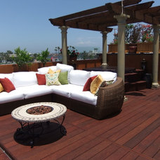 Beach Style Patio by White Lotus Feng Shui & Interior Design