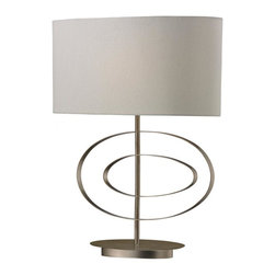 Dimond - One Light Antique Silver Leaf Table Lamp - One Light Antique Silver Leaf Table Lamp