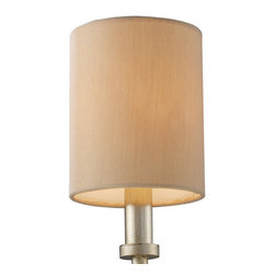 Elk Lighting - Elk Lighting New York Shade - Cream Fabric Shade Optional For The Trump Home��_��_��__��__New York Collection In Crystal Shade (1)