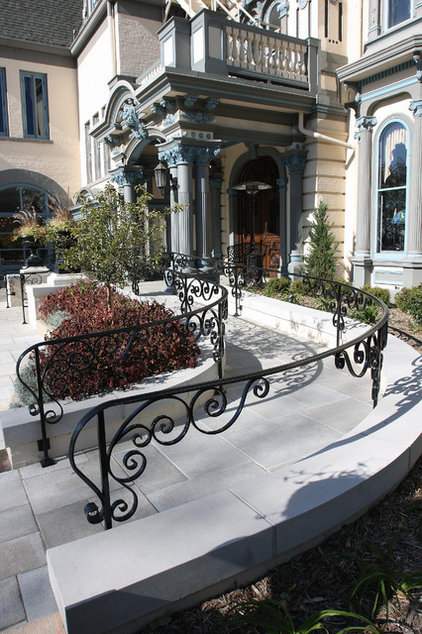 Traditional Home Fencing And Gates by Iron Creations USA LTD