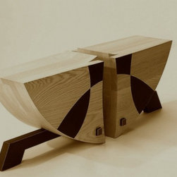 Two Seat Bench Or Coffee Table -