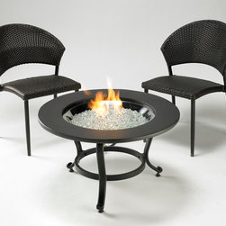 Saturn Fire pit - Easy to move and fits in any space, the Saturn fire pit table has everything you need in both a