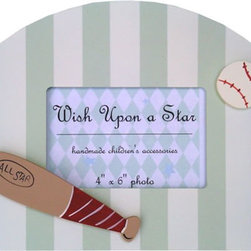 Wish Upon A Star - On Sale Baseball Picture Frame - Baseball Picture Frame