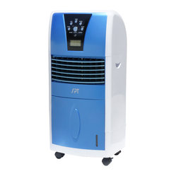 Evaporative Air Cooler with Ionizer