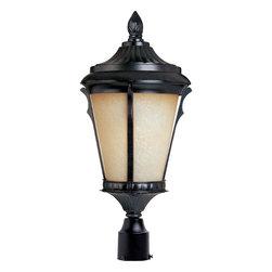Maxim Lighting - Maxim Lighting 85011LTES Espresso Odessa EE 1 Light Outdoor Post Light - Product
