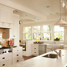 Traditional Kitchen Cabinets by Chelsea Court Designs