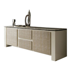 Rossetto - Diamond Buffet in Ivory - Features: