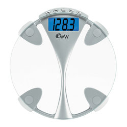 Weight Watchers® by Conair Glass Memory Precision Electronic Scale