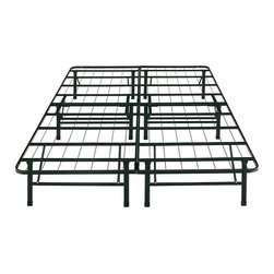 """None - Posture Support E King 14"""" Platform Bed Frame - Eliminate the need for box springs and other bed supports when you use this sturdy platform bed frame. The steel-frame construction can hold up to 3,000 pounds,allowing you to place almost any kind of mattress or bedding material on it."""