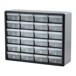 AKRO MILS INC - 24 Drawer Storage Cabinet - Hardware Storage Cabinets