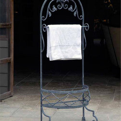 Ho Jo Towel Rack - Individuality is part of this lines hand-crafted allure.