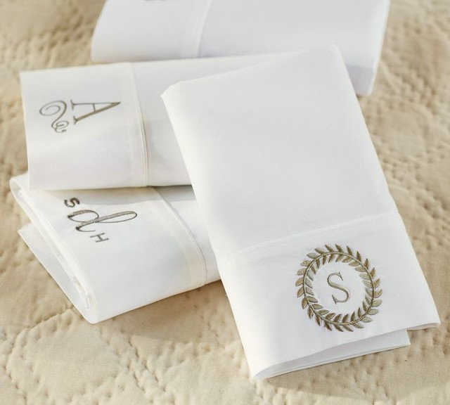 Traditional Bed Pillows And Pillowcases by Pottery Barn