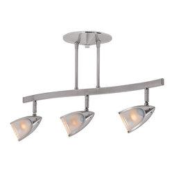 Access Lighting - Access Lighting 52030 Comet 3 Light Semi-Flush Ceiling Fixture - Product Features: