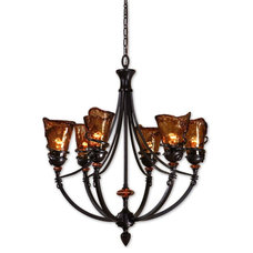 Contemporary Chandeliers by the essentials inside