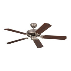Monte Carlo - Monte Carlo 5HM52 Homeowner Max 52 in. Ceiling Fan - 5HM52BPN - Shop for Ceiling Fans and Components from Hayneedle.com! Keep your room comfortable in style with the Monte Carlo 5HM52 Homeowner Max 52 in. Ceiling Fan. This ceiling fan has traditional charm and the coveted ENERGY STAR rating. The motor and five blades come in a variety of finish options and the blades have an 11-degree pitch for optimal air flow. A simple pull chain lets gives you control over the three-speed reversible motor. What is an ENERGY STAR product?This product has earned the ENERGY STAR rating from the U.S. Environmental Protection Agency and the U.S. Department of Energy. ENERGY STAR is a voluntary labeling program designed to identify and promote energy-efficient products. These products meet strict guidelines and can help you save up to a third on energy bills compared to like products without an ENERGY STAR rating. ENERGY STAR products saved about $14 billion in 2006 alone and their numbers are growing exponentially in product categories. This ENERGY STAR product has met criteria that will save energy money and reduce greenhouse gas emissions. An excellent choice.About the Monte Carlo Fan CompanyThe Monte Carlo Fan Company works hard to present you with a huge variety of superior-quality ceiling fans. From traditional or understated to ornately decorative or uniquely modern these fans are both trend-inspired and timeless and are the perfect way to add comfort and style to your home's decor. Due in part to the efforts and design standards of the Monte Carlo team ceiling fans have become indispensable additions to home decor. Transform your room with ease by adding a ceiling fan. Or update your existing fan with the addition of Monte Carlo lighting kits or glass shades. The Monte Carlo Fan Company has a reputation that's built on a long history of bringing you the best. When it comes to ceiling fans Monte Carlo is ahead of the curve.