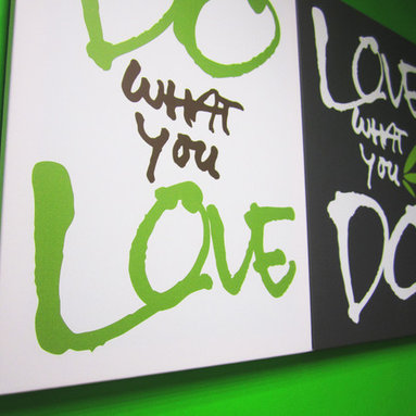 Quotes on Canvas - Do what you love. Love what you do.