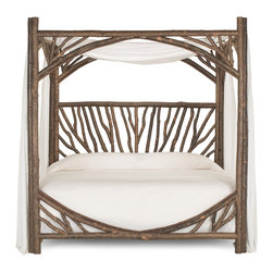 La Lune Collection - Rustic Canopy Bed 4282 by La Lune Collection - Rustic Canopy Bed (King) #4282 from La Lune Collection
