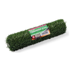 Prevue Pet - Prevue Pet Products Replacement Turf - 500G - Shop for House Breaking Aids from Hayneedle.com! Replacement turf is certified lead-free synthetic grass protected with antimicrobial odor control. Soft realistic quality turf is in height and constructed with a flow-through backing material allowing liquid to drain into the tray base. Do not use harsh detergents or cleaners for turf. Hand wash or brush with warm water and mild dish washing liquid and rinse thoroughly. Let turf air dry fully before replacing in tray. Turf is not machine washable. Do not place turf in washing machine or dryer. Replacement Turf 500G measures 21 5/8 Long 15 1/8 Wide and High. Designed for use exclusively with Prevue Pet Products Tinkle Turf 500 system for small dog breeds ideal for Chihuahuas Boston Terriers Mini Poodles Mini Schnauzers Pomeranians and other dogs of a similar size