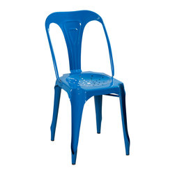 Kinsey Chair - Blue - Product Features: