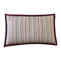 Jiti - Jiti Alita Stripes Pillow - Expressive colors, dynamic patterns and diverse materials in conjunction with clean, modern design - this is Jiti.