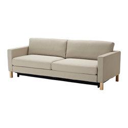 Tord Björklund/IKEA of Sweden - KARLSTAD Sofa bed - Sofa bed, Sivik beige