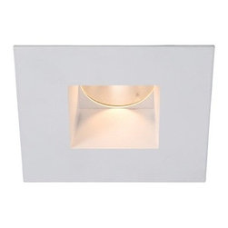 WAC Lighting - WAC Lighting   Tesla 2 in. High Output LED Open Reflector Square Trim - Minimum profile, square downlight trim with interior open reflector. For use with HR-2LED Tesla series housings from WAC Lighting. Features: