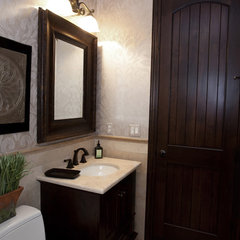 traditional powder room by Designer's Touch