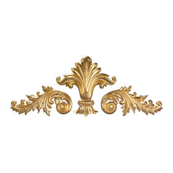 uDecor - GF-2089 Ornamental Set - For anyone looking for an elegant way to adorn your home or business, our gold foil products are the perfect way to achieve your desired look. Made out of polyurethane and then coated with 18k gold foil, these products are sure to leave your family and clients impressed.  Made from dense polyurethane