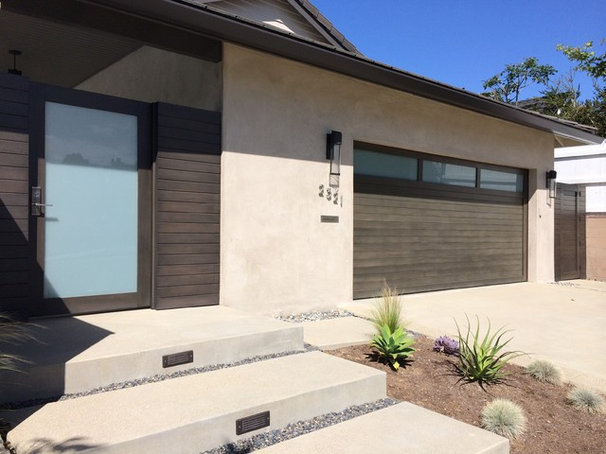 Contemporary Garage And Shed by Ziegler Doors Inc.
