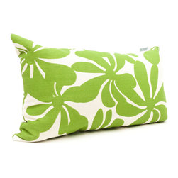 Majestic Home - Outdoor Sage Plantation Small Pillow - Add a splash of color and a little texture to any environment with these great indoor/outdoor plush pillows by Majestic Home Goods. The Majestic Home Goods Small Pillow will add additional comfort to your living room sofa or your outdoor patio. Whether you are using them as decor throw pillows or simply for support, Majestic Home Goods Small Pillows are the perfect addition to your home. These throw pillows are woven from Outdoor Treated polyester with up to 1000 hours of U.V. protection, and filled with Super Loft recycled Polyester Fiber Fill for a comfortable but durable look. Spot clean only.