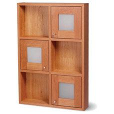 Contemporary Bathroom Cabinets And Shelves by SplashworksKB