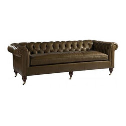 Thompson Sofa - Who doesn't want a a massive chesterfield, or two, anchoring the living room? Heck, I'd take one of these and leave the rest of the room vacant if that was an option.