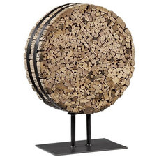 eclectic sculptures by Crate&Barrel
