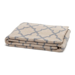 in2green - Eco Reversible Moroccan Throw - For an added burst of color in the room, lay this reversible snuggly throw at the foot of your bed, arrange it over the back of your couch or casually fold it over the arm of your favorite lounge chair. On those extra cold nights, you'll be happy you did.