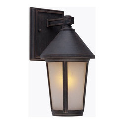 Artcraft Lighting - Artcraft Lighting Malibu Transitional Outdoor Wall Sconce X-UR0028CA - The Malibu Exterior Lighting Series, is transitional in design. The frame, backplate and screws are made out of high quality metals to eliminate the fear of corrosion and is backed by a 25 year warranty. Shown in Bronze and also available in black
