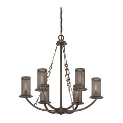 Savoy House - Savoy House 1-2500-6 Nouvel 6 Light Single Tier Candle Style Chandelier - Features: