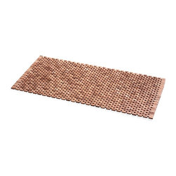 WS Bath Collections - Teak Wood Shower Mat - Modern/contemporary design. Water resistant. For use inside or outside of shower. Designer high end quality. Warranty: One year. Made from solid teak wood. Made by Lineabeta of Italy. No assembly required. 39.4 in. L x 21.7 in. W x 0.8 in. H (6 lbs.). Spec SheetUnique and fine bath accessories and complements, that provide inspirational solutions for every decor.