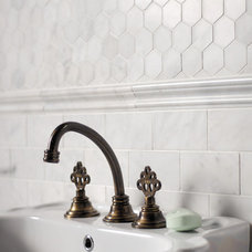 Traditional Tile by Marble Systems