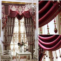 Customized Curtain in Purple -