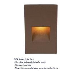 WAC Lighting - WAC Lighting WL-LED200 3.9 Watt LED Outdoor Vertical Step Light 120V - Features: