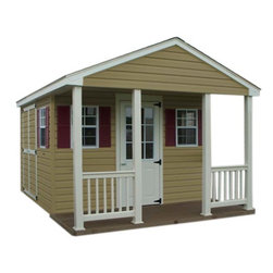 Fifthroom - Cabin Shed with Vinyl Siding -