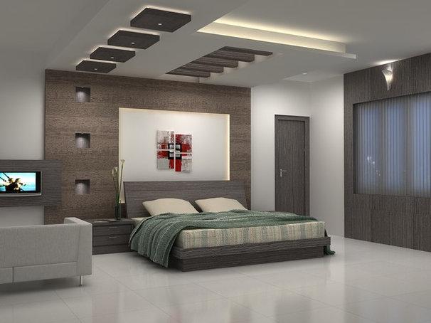 Mediterranean Bedroom by Design Studio