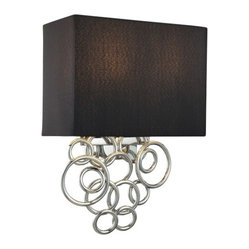 Ringlets 2-Light Wall Sconce