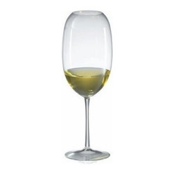 Ravenscroft Amplifier Pro Barrique White Wine Glass - The Ravenscroft Amplifier Pro Barrique White Wine Glass features an oblong cup with a curved narrow mouth. Intended to magnify intensify and focus the bouquet of the wine this shape maximizes the aroma and bouquet of the wine keeping it in the glass until tipped. This wine glass is ideal for these grape varietals and wines: Grand Cru Burgundy (white) Graves (white) New World Chardonnay and Rhone (white).Ravenscroft Crystal is the embodiment of old-world European craftsmanship blended with modern understanding of how a wine glass enhances the tasting experience. Each style of glass that Ravenscroft offers is the result of many years of glass-making trial and error. Each type of glass is individually designed and crafted to enhance the bouquet and taste of the wine or spirit for which it was made. The combination of being perfectly formed and light to the touch allows the bouquet to deliver the essence of the wine and spirits to the proper zones of the palate. To reduce the transfer of hazardous toxins into the beverage all Ravenscroft crystal products are lead-free.