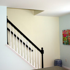 Traditional Staircase by Bright Bold and Beautiful