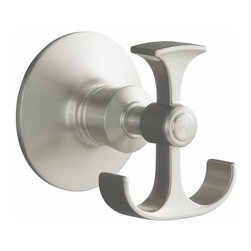 KOHLER - KOHLER K-11055-CP Archer Robe Hook in Chrome - KOHLER K-11055-CP Archer Robe Hook in ChromeThe Archer Accessories further compliment the Archer Suite of faucets and fixtures by KOHLER.  The inspiration of the Archer faucets and accessories design echoes from the delicate design lines and spacing found in classical Greek columns. KOHLER K-11055-CP Archer Robe Hook in Chrome, Features:• Classic, fluid styling that won't go out of style