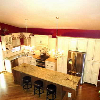 Traditional Kitchen by KC Cabinetry Design   Renovation