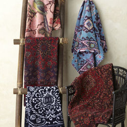"Fresco Towels - Fresco Towels Blue/Pink ""Aztec"" Bath Towel - Saturated colors and fanciful designs make these towels an easy choice for the bold bath. Mix them with solid colors to add pizzazz to the tried and true or go for all-out graphic appeal. These Turkish cotton towels in artistic patterns are highly absor..."