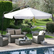 Contemporary Outdoor Umbrellas by patioumbrellas.com