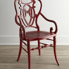 eclectic chairs by Horchow